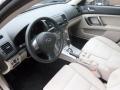 Warm Ivory 2009 Subaru Outback Interiors