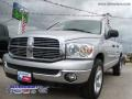 2008 Bright Silver Metallic Dodge Ram 1500 Big Horn Edition Quad Cab  photo #2