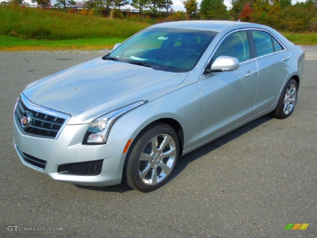 2013 Radiant Silver Metallic Cadillac ATS 3.6L Luxury ...