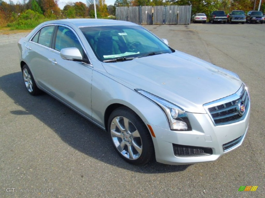 Radiant Silver Metallic 2013 Cadillac ATS 3.6L Luxury ...