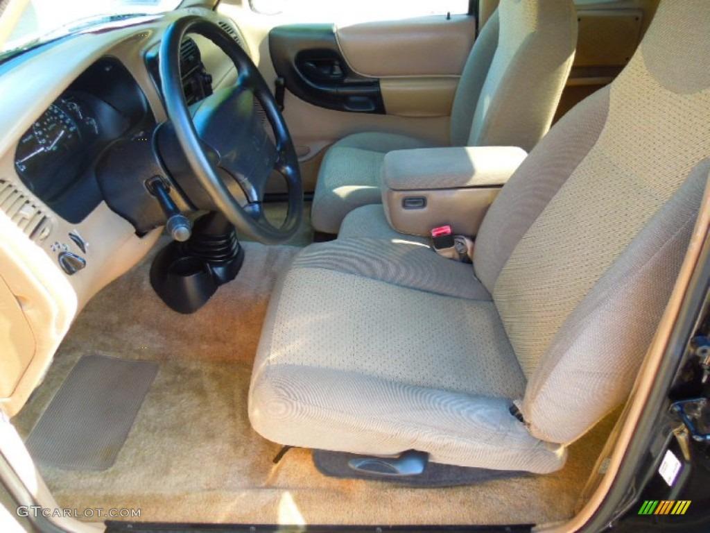 Beige interior 1998 mazda b series truck b3000 se extended