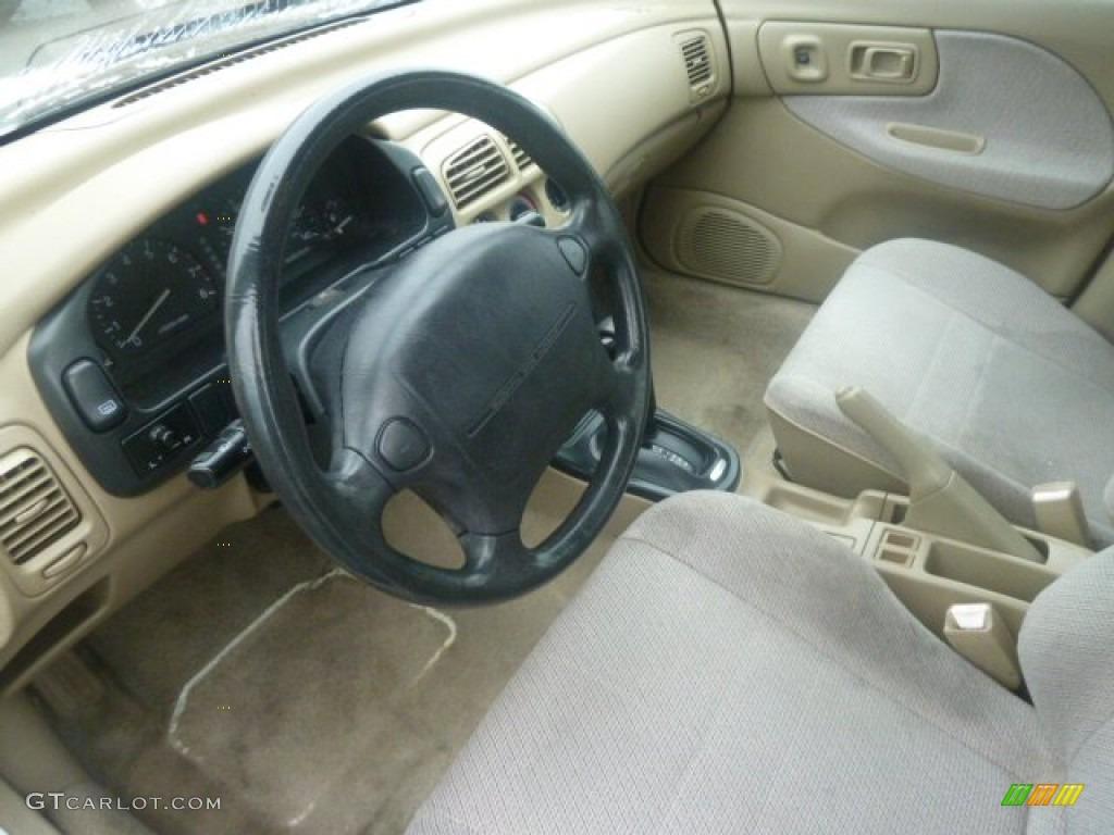 1993 Subaru Impreza L Sedan Interior Color Photos