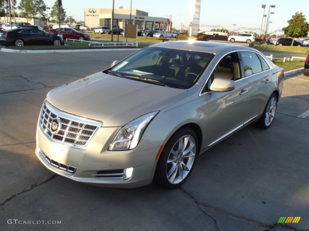 2013 Silver Coast Metallic Cadillac Xts Premium Fwd 72991823 Car Color Galleries