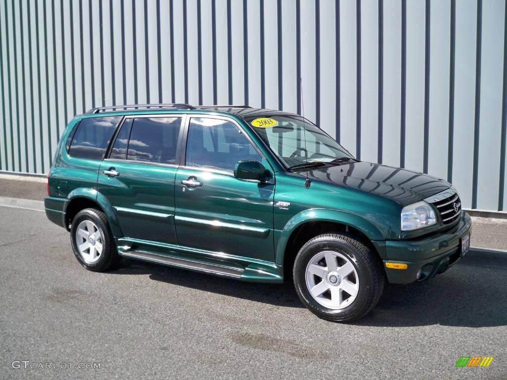 2003 grove green metallic suzuki xl7 limited 4x4 7282021 gtcarlot com car color galleries gtcarlot com