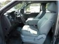 Steel Gray 2013 Ford F150 Interiors