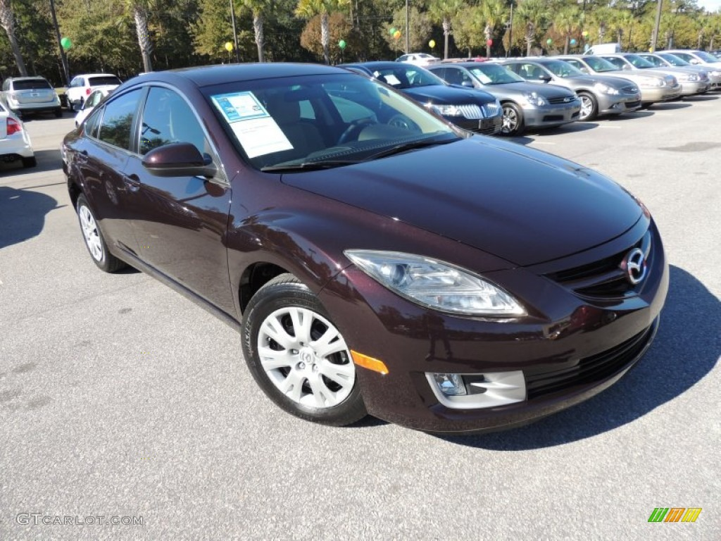 2009 Black Cherry Metallic Mazda Mazda6 I Sport 73054540