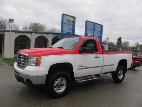 2008 gmc sierra 2500hd regular cab 4x4 data info and specs. Black Bedroom Furniture Sets. Home Design Ideas
