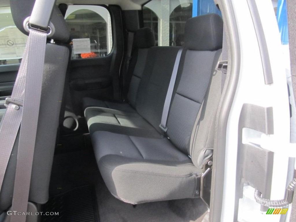 2012 Silverado 1500 LS Extended Cab 4x4 - Summit White / Dark Titanium photo #14