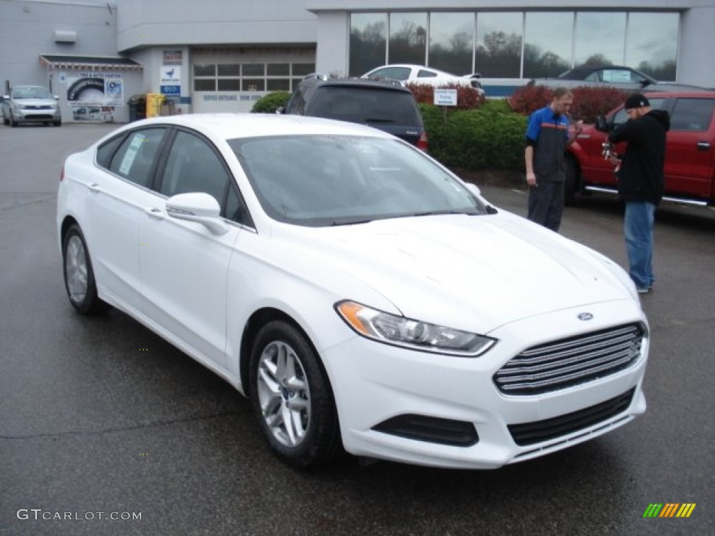 Oxford White Ford Fusion 2017 >> Oxford White 2013 Ford Fusion SE 1.6 EcoBoost Exterior Photo #73080186 | GTCarLot.com