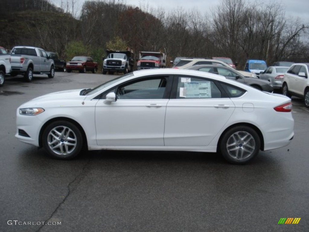 Oxford White 2013 Ford Fusion Se 1 6 Ecoboost Exterior Photo 73080257