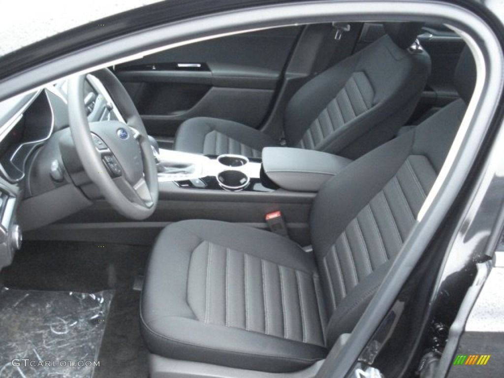 Charcoal Black Interior 2013 Ford Fusion Se 1 6 Ecoboost Photo 73080870