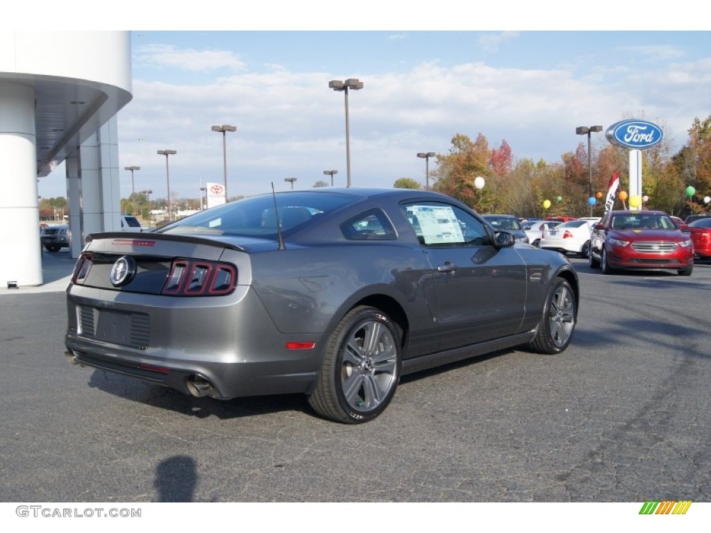 2013 sterling gray metallic ford mustang v6 coupe 73054381 photo 3 car color. Black Bedroom Furniture Sets. Home Design Ideas