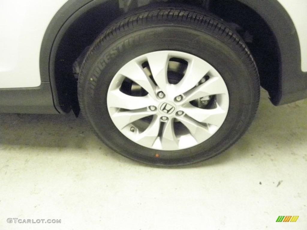 2013 CR-V EX-L AWD - Alabaster Silver Metallic / Gray photo #5