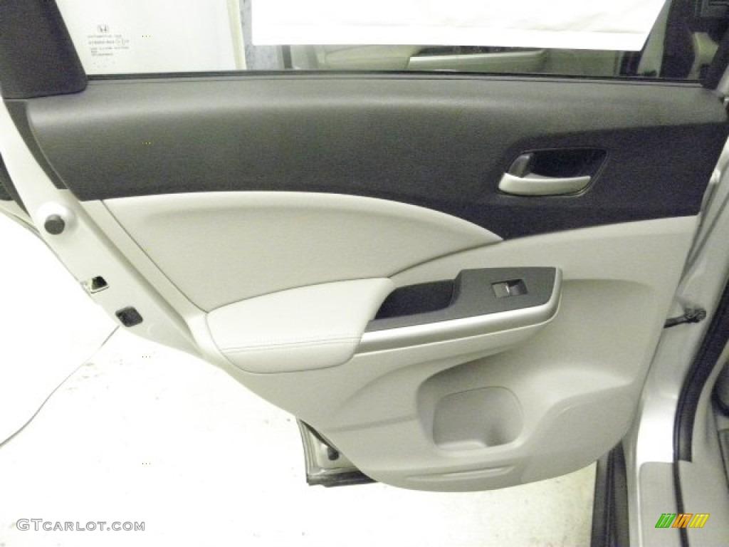 2013 CR-V EX-L AWD - Alabaster Silver Metallic / Gray photo #18