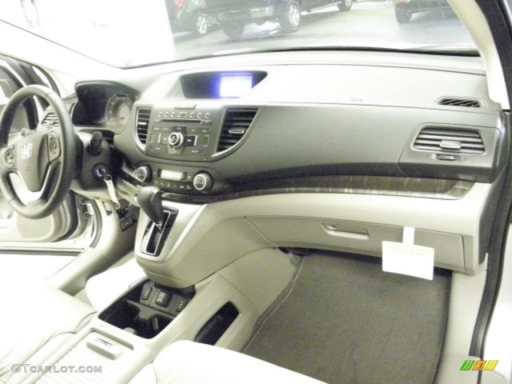 2013 CR-V EX-L AWD - Alabaster Silver Metallic / Gray photo #27