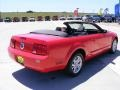 2007 Torch Red Ford Mustang V6 Deluxe Convertible  photo #14