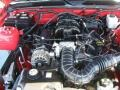 2007 Torch Red Ford Mustang V6 Deluxe Convertible  photo #31