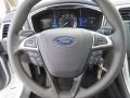 Charcoal Black Steering Wheel Photo for 2013 Ford Fusion #73093638