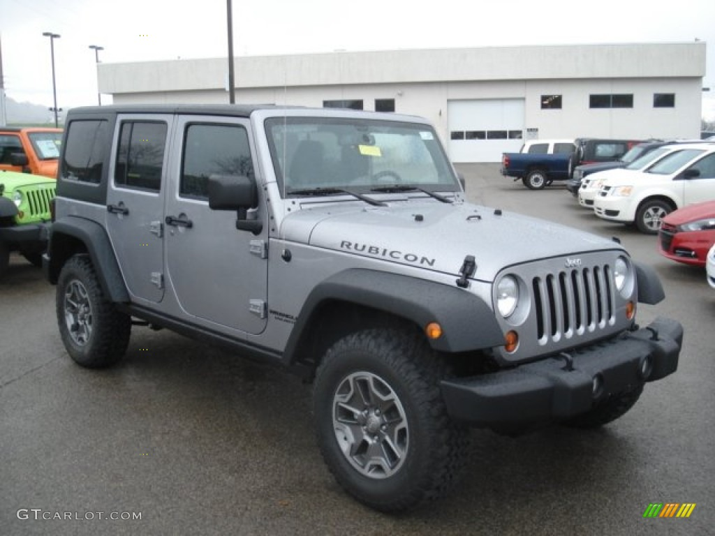 2013 Billet Silver Metallic Jeep Wrangler Unlimited ...