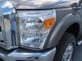 2012 Sterling Grey Metallic Ford F250 Super Duty Lariat Crew Cab 4x4  photo #8