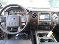 2012 Sterling Grey Metallic Ford F250 Super Duty Lariat Crew Cab 4x4  photo #27