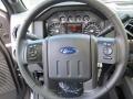 2012 Sterling Grey Metallic Ford F250 Super Duty Lariat Crew Cab 4x4  photo #34