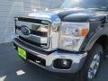 2012 Green Gem Metallic Ford F250 Super Duty Lariat Crew Cab 4x4  photo #9