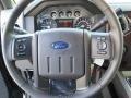 2012 Green Gem Metallic Ford F250 Super Duty Lariat Crew Cab 4x4  photo #35