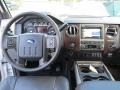 2012 White Platinum Metallic Tri-Coat Ford F250 Super Duty Lariat Crew Cab 4x4  photo #24