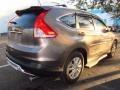 2012 Urban Titanium Metallic Honda CR-V EX-L  photo #3