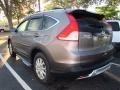 2012 Urban Titanium Metallic Honda CR-V EX-L  photo #4