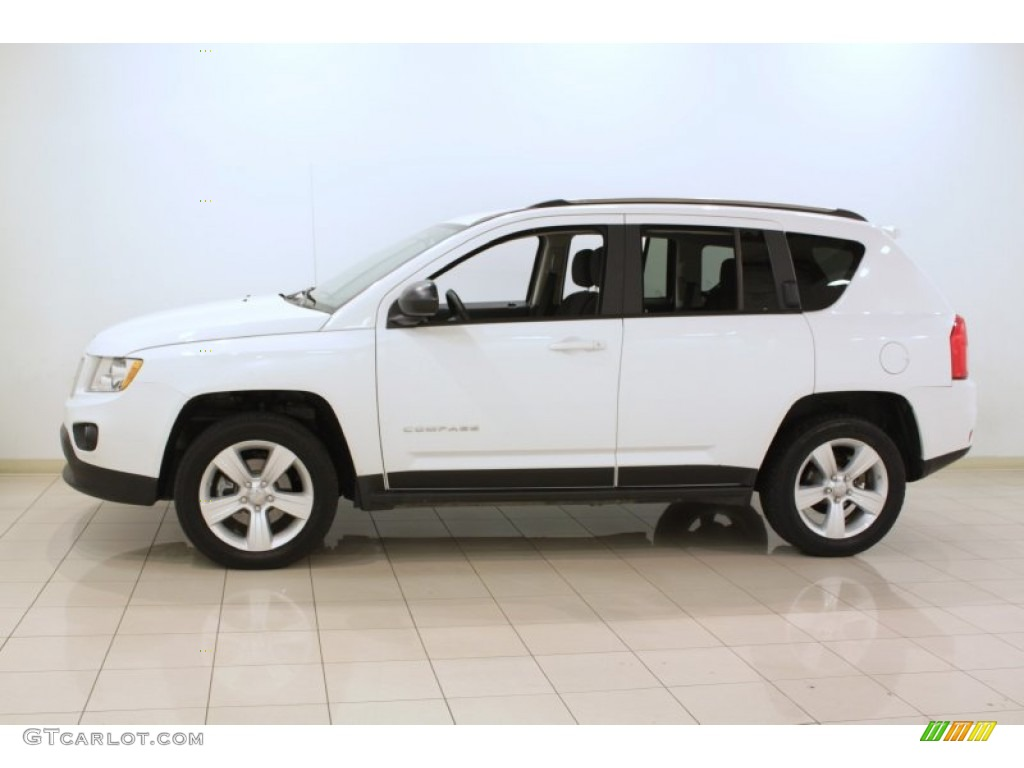 bright white 2012 jeep compass sport 4x4 exterior photo 73112358. Black Bedroom Furniture Sets. Home Design Ideas