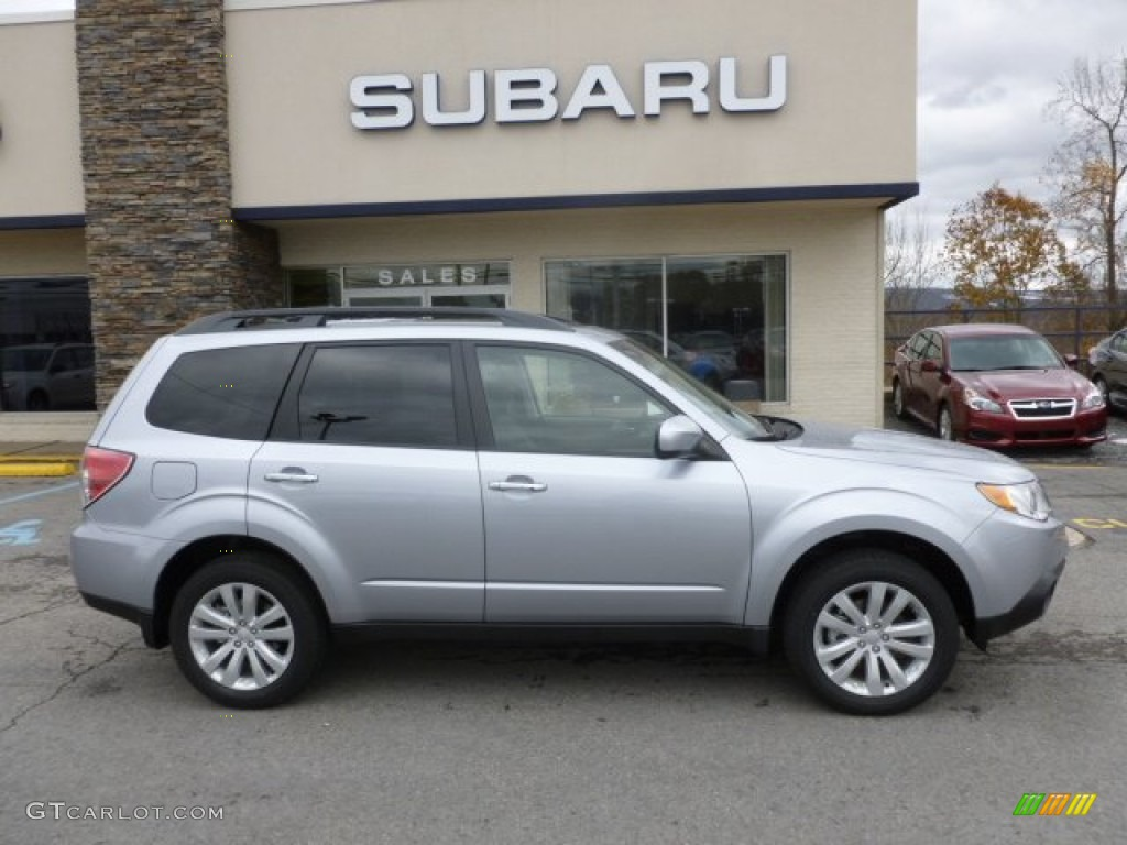 Ice Silver Metallic 2013 Subaru Forester 2.5 X Limited Exterior Photo ...
