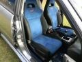 2007 Subaru Impreza Blue Alcantara Interior Front Seat Photo