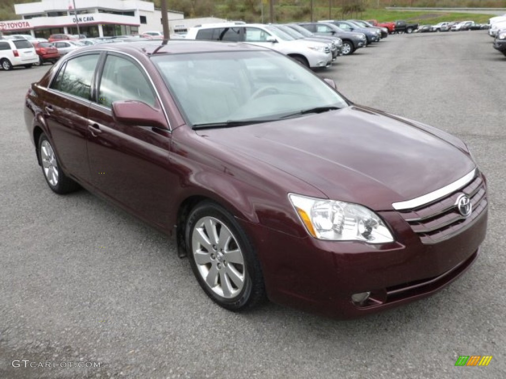 cassis red pearl 2005 toyota avalon xls exterior photo. Black Bedroom Furniture Sets. Home Design Ideas