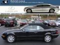 Black 2001 Mercedes-Benz CLK 320 Cabriolet