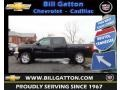 2013 Black Chevrolet Silverado 1500 LT Crew Cab 4x4  photo #1