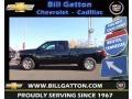 2012 Black Granite Metallic Chevrolet Silverado 1500 LT Extended Cab 4x4  photo #1