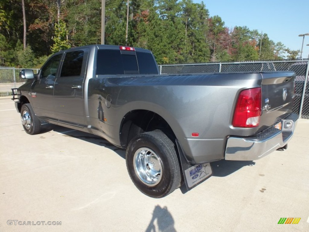 Mineral Gray Metallic 2010 Dodge Ram 3500 Lone Star Crew Cab 4x4 Dually Exterior Photo #73153461