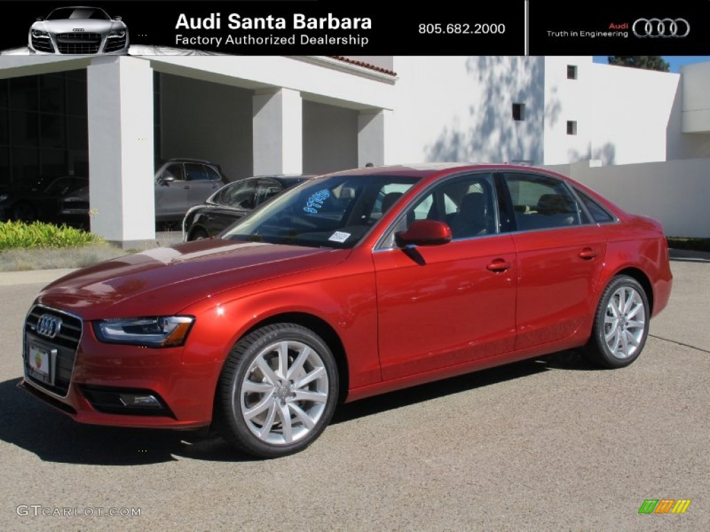 2013 volcano red metallic audi a4 2 0t quattro sedan 73142479 gtcarlot com car color galleries