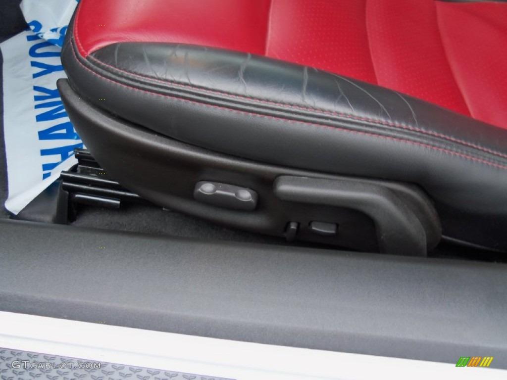 Ebony Black Red Interior 2011 Chevrolet Corvette Grand Sport Coupe Photo 73161357