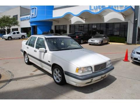 1997 Volvo 850 GLT Turbo Sedan Data, Info and Specs