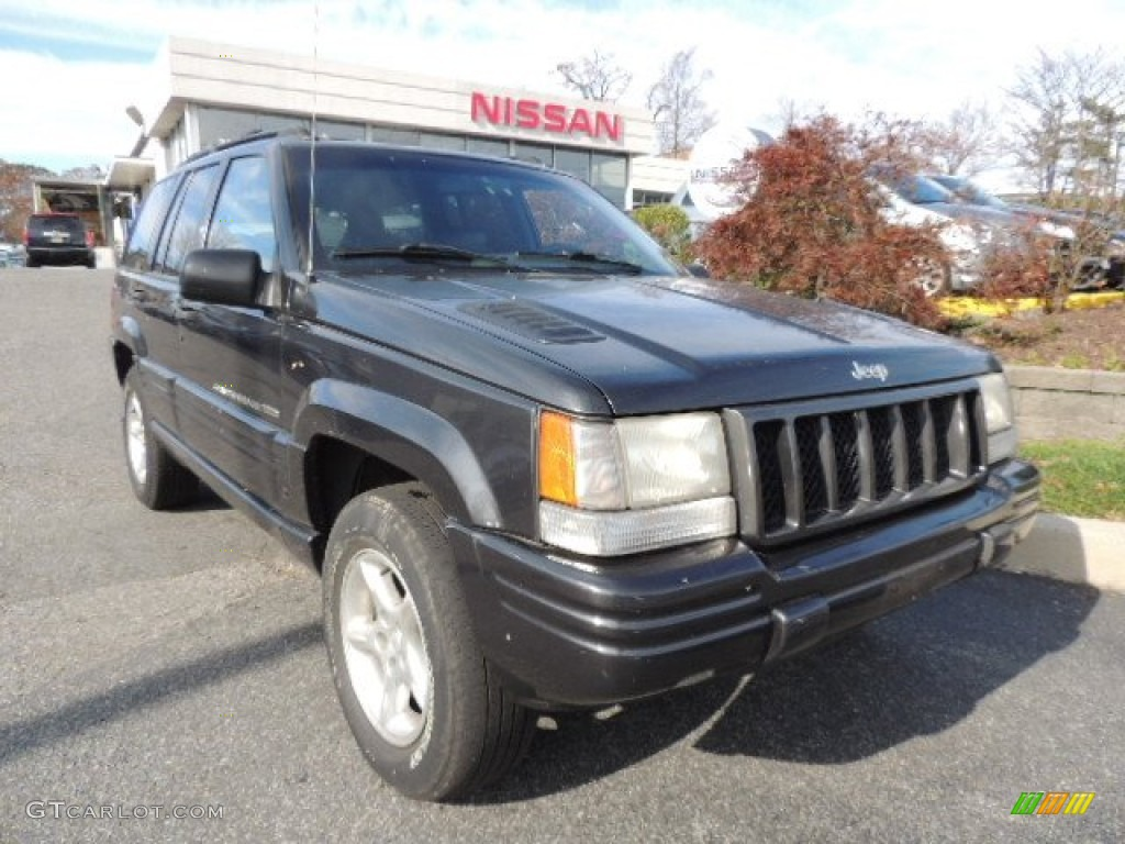 1998 Deep Slate Pearlcoat Jeep Grand Cherokee Limited 4x4 ...