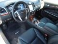 Black 2013 Chrysler 300 Interiors