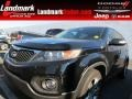 Ebony Black 2012 Kia Sorento Gallery