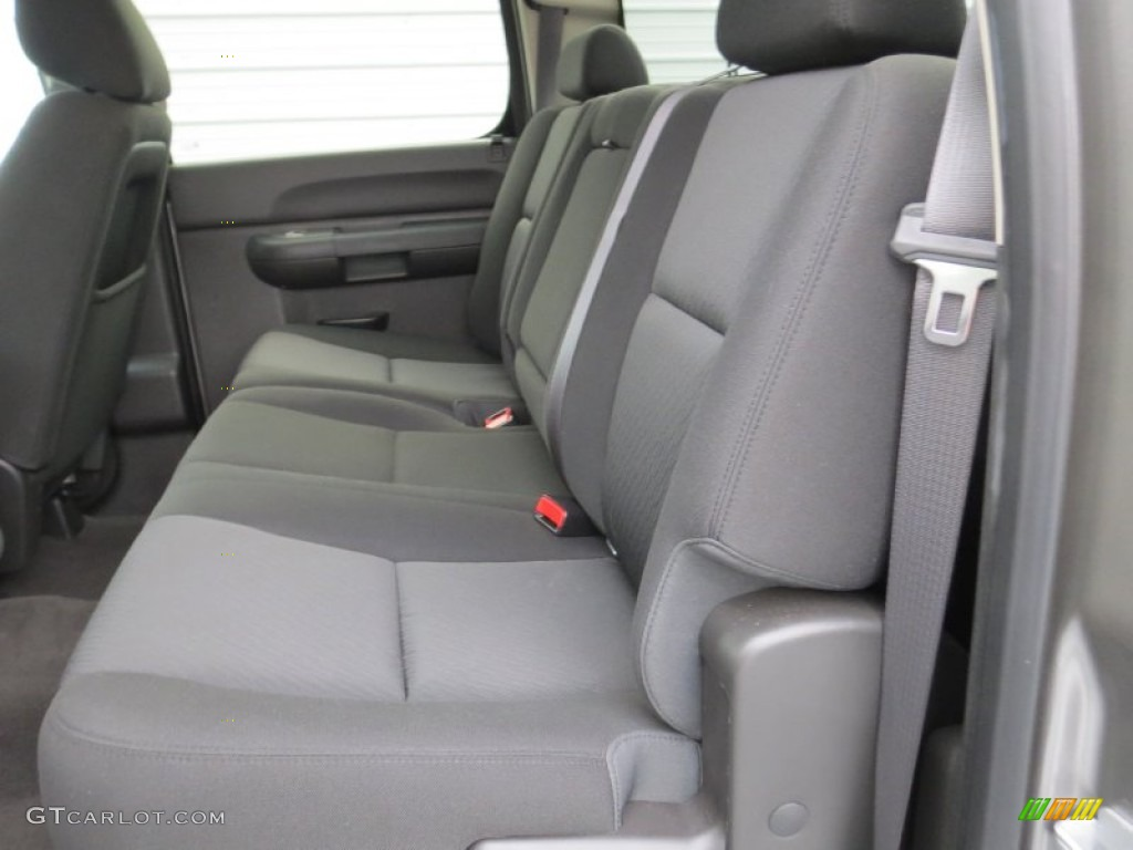 2012 Silverado 1500 LS Crew Cab - Mocha Steel Metallic / Dark Titanium photo #28
