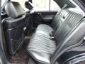 1993 190 Class 190E 2.6 Black Interior