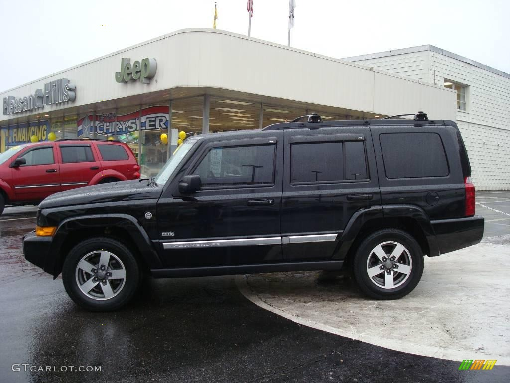 2006 black jeep commander 4x4 7270370 car color galleries. Black Bedroom Furniture Sets. Home Design Ideas