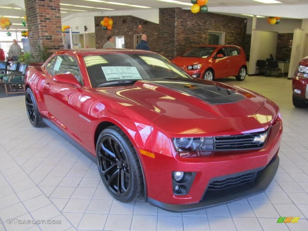 2013 crystal red tintcoat chevrolet camaro zl1 73180244 car color galleries. Black Bedroom Furniture Sets. Home Design Ideas