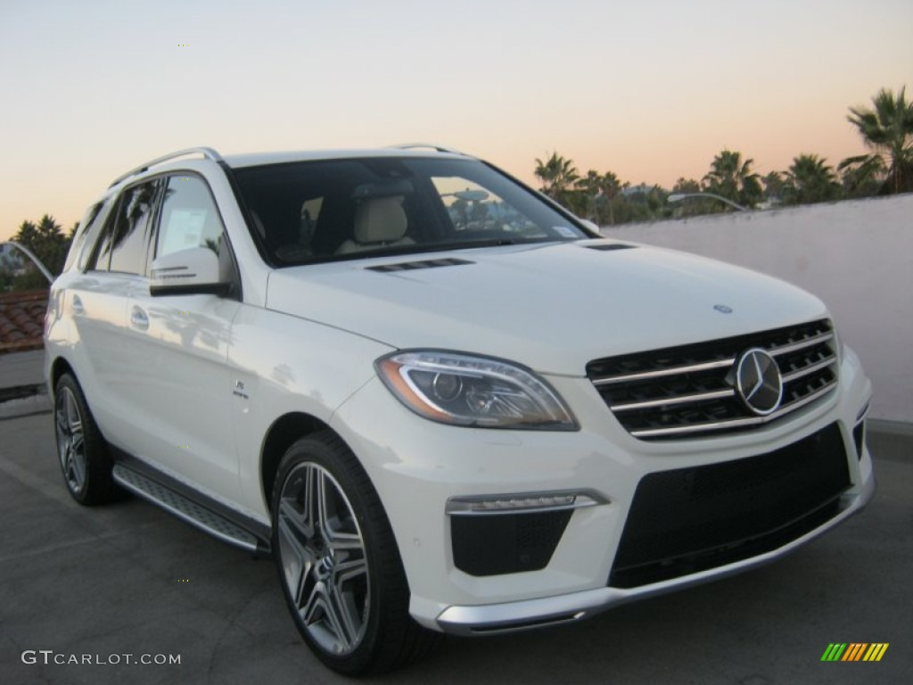 2013 arctic white mercedes benz ml 63 amg 4matic 73180284 for 2013 white mercedes benz